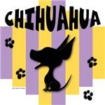 Chihuahua Yellow/Purple Stripe