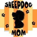 Sheepdog Mom Yellow/Orange Stripe