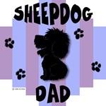 Sheepdog Dad Blue/Purple Stripe