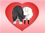 Bearded Collie Valentine