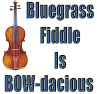 Bow-dacious Bluegrass Fiddle