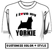 I Love my Yorkie (Yorkshire Terrier)