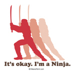 it's okay i'm a ninja