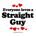 Everyone loves a straight guy