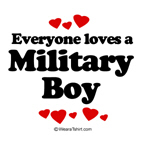 Everyone loves a Military boy