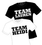 Team Lauren vs. Team Heidi