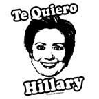 Te quiero Hillary Clinton