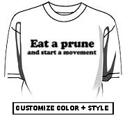 Eat a prune and start a movement.