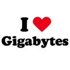 I love gigabytes