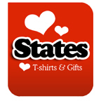 I Love States T-shirts & I Love States T-shirt