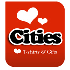 I Love Cities T-shirts & I Heart Cities T-shirts