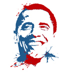 Red, White, and Blue Obama