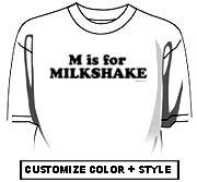 M is for MILKSHAKE
