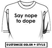 Say nope to dope