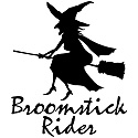 Broomstick Rider Witch