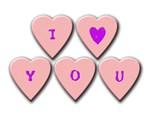 I [HEART] You Candy Hearts