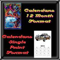 Vertical Wall Calendars & Single Print