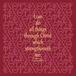 Philippians 4:13 IXOYE Rose