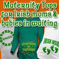 Irish Maternity Tshirts