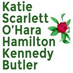 Katie Scarlett O'Hara Hamilton Kennedy Butler