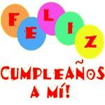 Happy Birthday to Me in Spanish