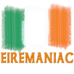 Eiremaniac!  Ireland Lover with Flag of Ireland