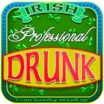 Professional Drunk! Irish Beer Label