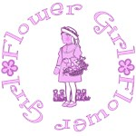 Lilac Flower Girl on Tees and Gifts