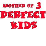 Mother of Three Perfect Kids