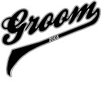 Athletic or Baseball Font Groom 2008