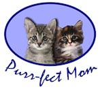 Purr fect Mom with KITTENS! Cute