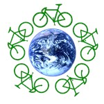 Bikes Around the Earth on Organic Apparel
