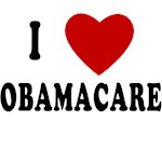 I LOVE OBAMACARE I HEART OBAMACARE