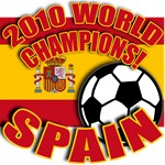 SPAIN 2010 World Champs Tshirts, Buttons