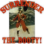 Surrender the Booty! Pirate Tshirts