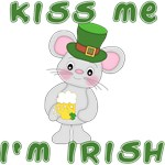 Irish Mouse Kiss Me I'm Irish