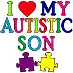 I Love My Autistic Son Tshirts