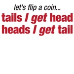 Let's flip a coin (men)