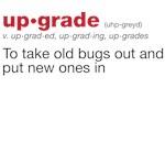 upgrade definition (geek)