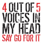4 out of 5 voices