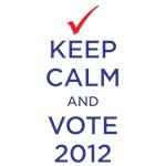 keep calm - vote 2012