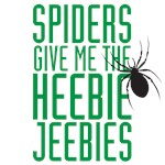 Spiders give me the heebie jeebies