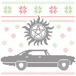 Supernatural Ugly Christmas Sweater
