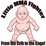 Little MMA Baby - Crib to the Cage!