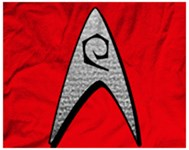 Star Trek Engineer Badge Insignia