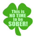 No Time To Be Sober St Patrick's Day Tee shirts