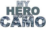 My Hero Wears Camo. NAVY