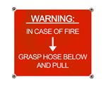 Hose warning