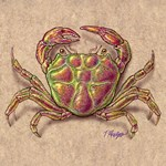 Green and Purple Crab