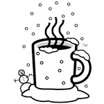 WxCafe Winter Snow Icon